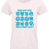 Camiseta mujer cuello redondo 2021
