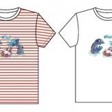 Camiseta niño/niña cuello redondo