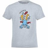 Camiseta niño/niña cuello redondo 2019