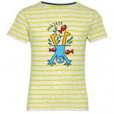 Camiseta niño/niña cuello redondo rayas 2019