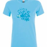 Camiseta mujer cuello redondo 2020