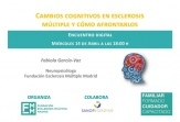 Los cambios cognitivos en EM, protagonistas del próximo encuentro digital para pacientes y familiares