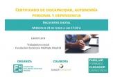 Discapacidad, autonomía y dependencia, protagonistas del próximo encuentro digital para pacientes y familiares