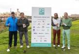 Solidaridad con las personas afectadas por EM en la novena edición del Torneo de Golf 'Alejandro Hernández'