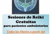 Sesiones gratuitas de Reiki para pacientes de FEMM