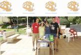 200 voluntarios participaron en la edición 2016 de 'Mójate por la Esclerosis Múltiple'