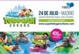 El Súper Tobogán Urbano pondrá el broche final a 'Mójate por la EM' el próximo 24 de julio