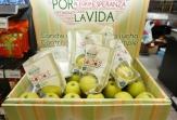 'Una Manzana por la Vida' bate récord vendiendo cerca de 50.000 manzanas solidarias