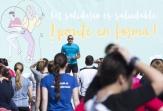 Doscientas personas participaron en 'Ser solidario es saludable ¡ponte en forma!' en el Parque del Oeste