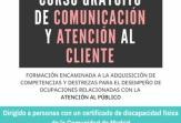 Orientación, Mediación y Promoción Laboral impartirá un Curso de Comunicación y Atención al Cliente