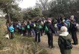 Cerca de un centenar de personas participan en la Caminata Solidaria por la EM de Valdemorillo