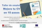 Mejora tu CV en 10 pasos con el taller formativo que tendrá lugar en la sede de FEMM el 26 de febrero