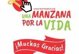 La edición más digital de la campaña 'Una Manzana por la Vida' vende 6.555 manzanas solidarias