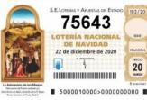 75643 es el número de FEMM para el sorteo de Lotería de Navidad de este año