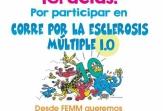 1.109 personas participaron en la primera edición digital de 'Corre por la Esclerosis Múltiple'